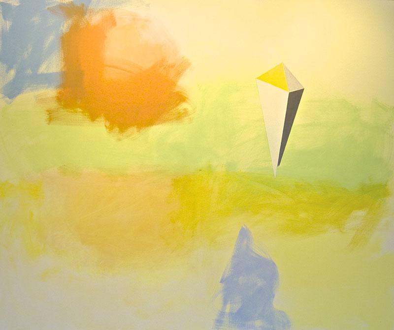 Sky Power, Where the Buffalo Roamed, 2013, oil on canvas, 60 x 72