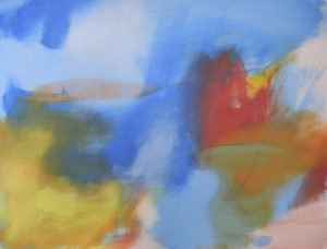 Sky Power, A Poem of Fire and Water, 2014, oil on canvas, 30 x 40_